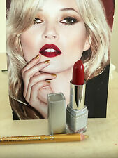 WET N WILD LIPSTICK COLOUR CHERRY BLOSSOM RED & FREE GOLD  LINER PENCIL NEW