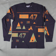 Lifted Research Group - LRG - The Lifted 47 Long Sleeve Tee in Purple NWT LRG