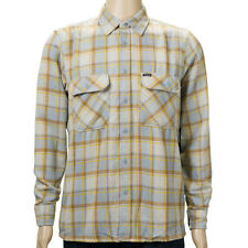 SP Brixton Archie Long Sleeve Flannel Shirt Heather Grey skate