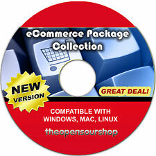 eCommerce CRM & Website Shop Software Collection – Create & Manages Websites