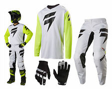 Shift Whit3 Ninety Seven MX Combo Motocross Enduro Cross Trousers and Jersey