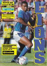 MILLWALL HOME PROGRAMMES 1970s + 1980s + 2000s v good - Choose from list