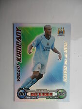 Match attax 2008 2009 (Blue backs) Man of the match cards teams M-W.