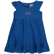 Florida Gators Girls Toddler Scarlett Ruffle Dress - Royal - NCAA