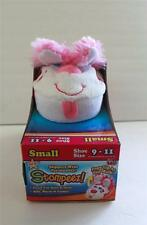 As Seen On Tv Stompeez Slippers Perky Pink Puppy Boys Girls Small Large S L NIB