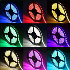 5M 300leds Non/Waterproof IP60/IP65/IP67 5050 SMD Flexible Strip Light 12V Lamp