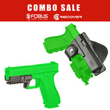 Fobus Roto Holster + Recover Tactical Rail System for Glock 17 22 - EM17 RT RC12