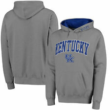 Kentucky Wildcats Stadium Athletic Arch & Logo Pullover Hoodie - Gray - College