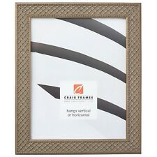 Craig Frames Lenox, 1.13 Inch Antique Silver Solid Wood Picture Frame