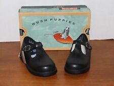 Hush Puppies Haily Black Leather Dress Shoes