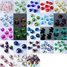 Free shipping 32 PCS (8 mm) swarovski crystal 5040# Rondelle Beads