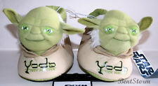 STAR WARS JEDI MASTER YODA Plush Toddler SLIPPERS HOUSE Shoes S-XL  STARWARS NWT