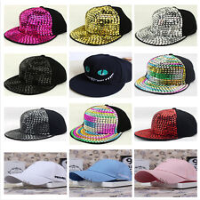 Men Women Snapback Adjustable Baseball Cap Hip Hop Hats Cool Bboy Unisex 2017