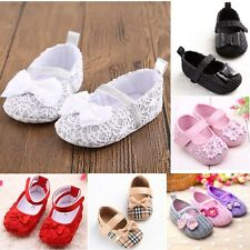 0-18 Months Size Infants Toddler Crib Soft Sole Shoes Baby Boy Girl New Gifts AU