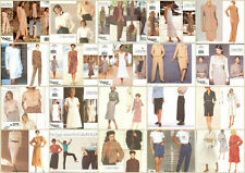 OOP Vogue Designer Calvin Klein Sewing Pattern Misses Size You Pick
