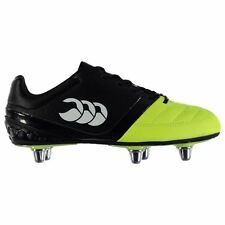 Canterbury Kids Phoenix Club Rugby Boots Junior Lace Up Shoes Sports Trainers