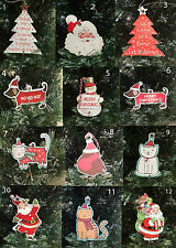 Pack of 10 Christmas Gift Tags Labels gift Wrapping 12 Choices