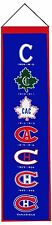 NHL Hockey Montreal Canadiens Heavy Wool with Embroidery Sport Team Logo Heritag
