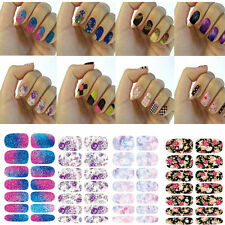 Nail Art Water Transfer Wrap Stickers Polish Foil Decal DIY Tips Decoration le