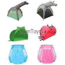 Portable Cute Animal Figure Playhouse Kids Play Tent Cubby House Playhut Toys