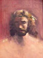 Thomas Kinkade Jesus Prince of Peace 16x12 Classic Edition Framed Canvas