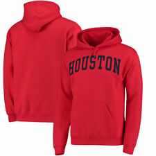 Houston Cougars Basic Arch Pullover Hoodie - Red - College