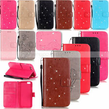 YPYB Rhinestone Leather Case Cover For Apple iphone 7 Plus 6 6S Plus 5S 5C 4S 4G