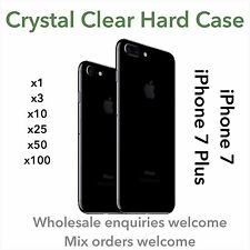 WHOLESALE CRYSTAL CLEAR THIN HARD CASE COVER FOR iPHONE 7 IPHONE 7 PLUS