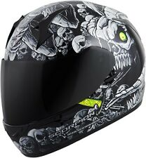 Scorpion EXO-R410 Dr. Sin - Full-Face Street Motorcycle Helmet - Silver