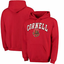 Cornell Big Red Campus Pullover Hoodie - Red - College