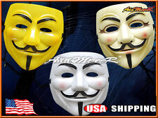 V FOR VENDETTA Official Licensed Guy Fawkes Occupy Anonymous MASK Guido Fawkes