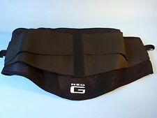 NEO G BACK BRACE WITH POWER STRAPS - REF: 890 - ONE SIZE FITS MOST - NEW