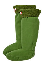 NWOB  Hunter Tall Cable Knit Cuff Welly Sock   Size L