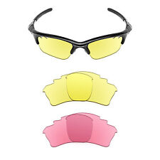 Revant Vented Replacement Lenses for Oakley Half Jacket XLJ - Multiple Options