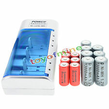 7x D  Ni-MH Rechargeable Battery +7x C  Ni-MH  Rechargeable Battery+Charger