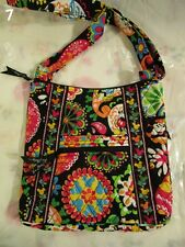 VERA BRADLEY DISNEY Large Hipster Midnight With Mickey TAG Crossbody M7