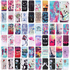 -YPYB Pattern Leather Flip Case Cover For Apple iPhone 7 6 6S Plus 5S 5C 4S 4G