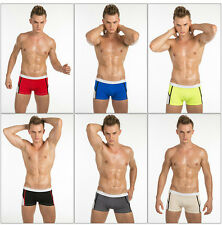 New JQK Sexy Mens Underwear Boxer Brief Sport Mixed Color Trunk Sz M,L,XL # KN08