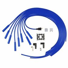Accel 5040B Blue 8mm Super Stock Universal Spark Plug Wires Straight Plug Boots