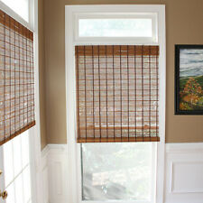 Lewis Hyman Winfield Collection Bamboo Rollup Shade in Carmel Finish