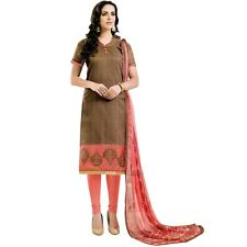 Ready to Wear Brocade Silk Salwar Kameez Suit Indian Pakistani Dres-Zareen-47002