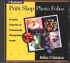Print Shop Photo Folios: Holidays & Celebrations CD Win/Mac - NEW CD in SLEEVE