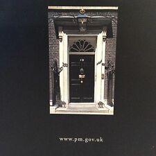 VISITORS GUIDE TO NUMBER 10 DOWNING STREET SIGNED BY TONY BLAIR