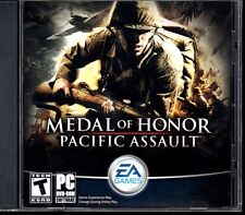 Medal of Honor: Pacific Assault (PC-DVD, 2011) Vista/XP/2000 - NEW CD in SLEEVE