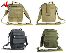 Tactical Military Outdoor Hiking Molle Shoulder Sling Bag Hand Pouch Backpack