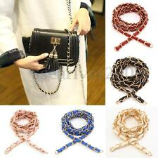 Metal Leather Purse Chain Strap Handle Shoulder Crossbody Handbag Replacement