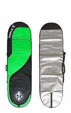 "New Triple X Heavy Duty 9'2"" Longboard Surfboard Bag/Green"