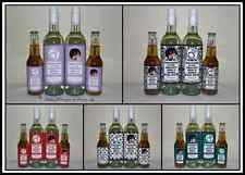 ** ENGAGEMENT PARTY DECORATIVE WINE BOTTLE LABELS GIFTS DECORATIONS **