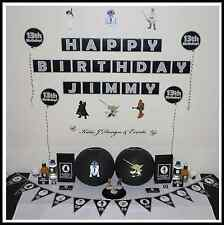 ** STAR WARS PERSONALISED Birthday Party Decorations Scene Setter **