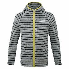 Craghoppers Boys Earlton Full Zip Fleece Childrens Fluffy Striped Jacket